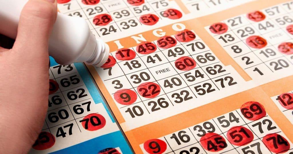 Bingo är ett socialt spel